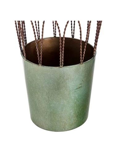 Vitale Metal Vazo Yeşil